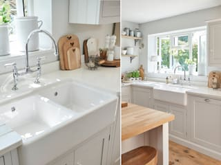 Traditional Bathrooms GmbH KitchenSinks & taps Ceramic White