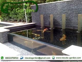 Tukang Kolam Koi Surabaya NISCALA GARDEN | Tukang Taman Surabaya Rumah Minimalis