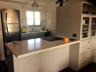 Modulor Mobiliario y Arquitectura 現代浴室設計點子、靈感&圖片 石器 Grey
