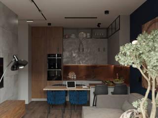 ЖК Green park Кухня в стиле лофт от 3D GROUP Лофт