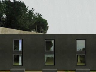 Altro_Studio Wooden houses Wood Grey