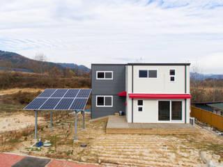 공간제작소(주) Moderne Häuser