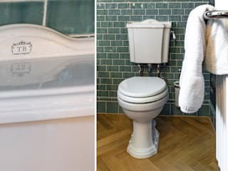 Traditional Bathrooms GmbH BathroomToilets Porcelain White