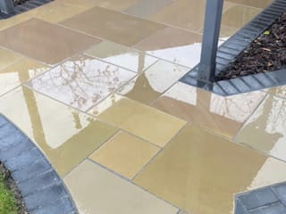 Rainbow Sandstone Paving - Royale Stones Royale Stones Limited Quinchos
