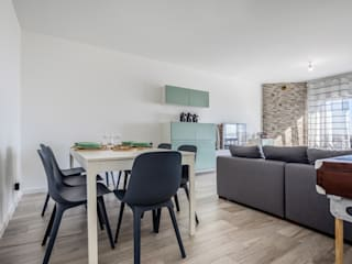Janine Martins - Consultora Imobiliária | Arquitecta | Home Staging 现代客厅設計點子、靈感 & 圖片