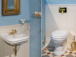 Traditional Bathrooms GmbH Classic style bathroom Blue