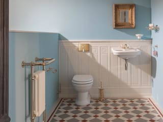Traditional Bathrooms GmbH Kamar Mandi Klasik Blue