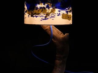Anyma Design 藝術品其他藝術物件 木頭 Blue