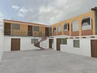Arquitectura Tiempo & Espacio Escaleras Ladrillos Blanco