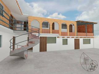 Arquitectura Tiempo & Espacio Casas pequeñas Ladrillos Blanco