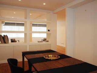 ARCHDESIGN LX Ruang Makan Modern MDF White