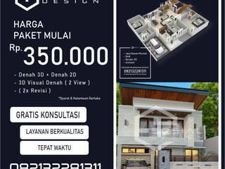 Jasa Arsitek Yogyakarta | Jasa Desain Rumah Yogyakarta | Jasa Desain Interior Yogyakarta | Kota jogja/Yogyakarta | Jasa kontraktor Yogyakarta ARSITEK SOSIAL DESIGN Garasi Minimalis Beton Grey