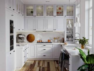 Disename3d Dapur Gaya Skandinavia