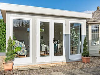 Low maintenance, garden room Garden Affairs Ltd Giardino moderno Grigio