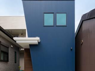 姫路市龍野町の家 中村建築研究室 エヌラボ(n-lab) 一戸建て住宅 鉄/鋼 青色