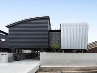 姫路市広畑区の家 中村建築研究室 エヌラボ(n-lab) 一戸建て住宅 鉄/鋼 黒色