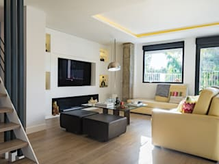 NEXUM ADAPTA SL Living room Wood Wood effect