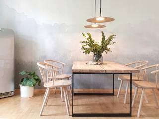 Innenarchitektur Federleicht Scandinavian style dining room Grey