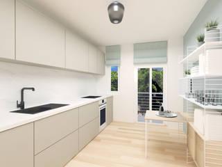 Innenarchitektur Federleicht Scandinavian style kitchen Grey