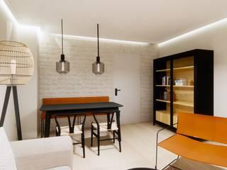 Innenarchitektur Federleicht Modern dining room Yellow