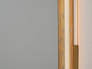 Luz Vintage Dining roomLighting Perunggu Amber/Gold