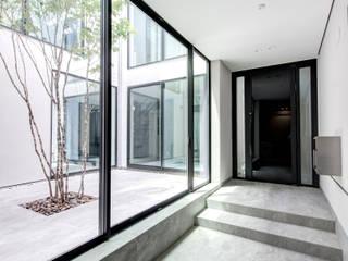Modern Koridor, Hol & Merdivenler TERAJIMA ARCHITECTS Modern