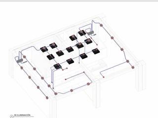 ConstruTech & Technology BIM Dapur Gaya Industrial Kayu