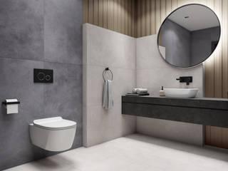 Domni.pl - Portal & Sklep Minimalist style bathroom Ceramic White