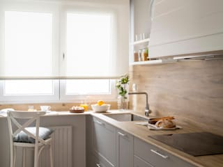 Sube Susaeta Interiorismo Small kitchens White