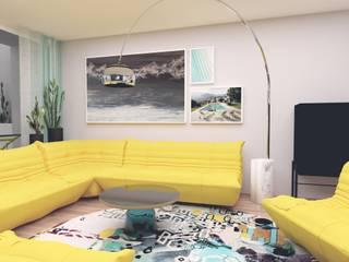 Innenarchitektur Federleicht Modern living room Yellow