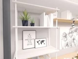 Innenarchitektur Federleicht Modern study/office White