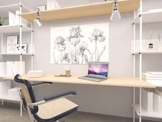 Innenarchitektur Federleicht Modern study/office Beige