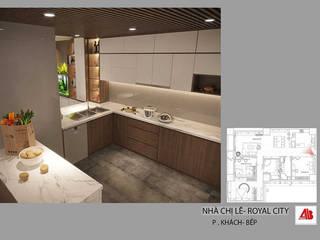 Sang trọng và tinh tế cùng thiết kế nội thất chung cư Royal City Thiết Kế Nội Thất - ARTBOX