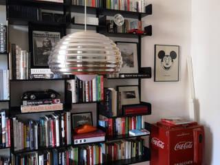Studio Zay Architecture & Design Comedores de estilo ecléctico Aluminio/Cinc Negro