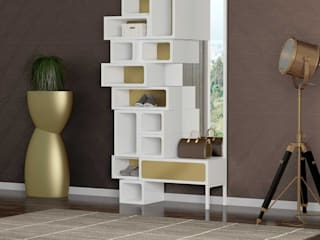 Intense mobiliário e interiores Corridor, hallway & stairsClothes hooks & stands