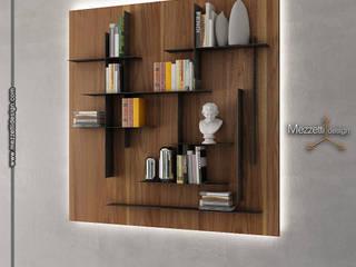 Mezzettidesign Living roomShelves Wood Wood effect
