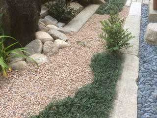和で彩られたチャペルガーデン 株式会社ウエシン 枯山水 石