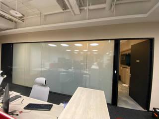 辦公室電控玻璃隔間 Office Smart Glass Partition 明星電控科技有限公司 書房/辦公室