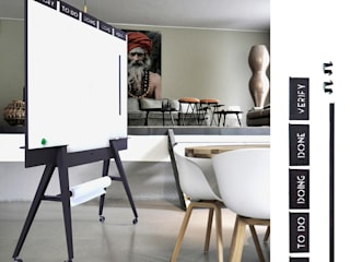 Scrumboard UIL StudioVIX.nl Office spaces & stores Besi/Baja Black