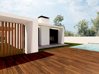 Linhas Simples Single family home White