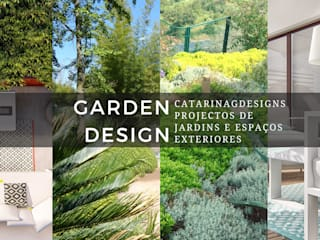 CatarinaGDesigns Сад в стиле модерн
