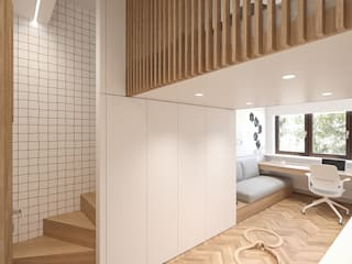 MIRAI STUDIO Boys Bedroom Wood Wood effect