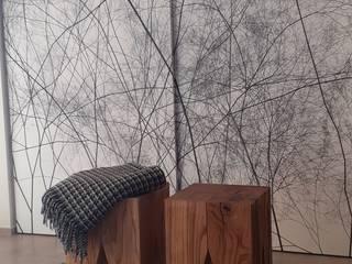 Un living per lo svago StudioA di Annalisa Mapelli Spogliatoio moderno
