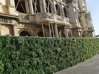 JARDINERIA DEL VALLES Сад в стиле минимализм