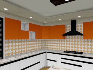 royal kitchen interior 現代廚房設計點子、靈感&圖片