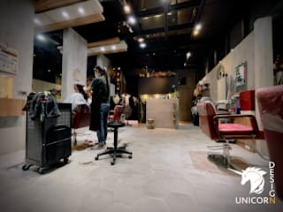 Unicorn Design Eclectic style offices & stores