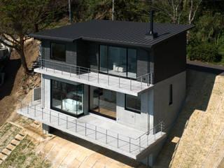 Atelier Square Case moderne Ardesia Nero