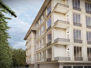 Suadiye Kentsel Dönüşüm Projesi Hakan Özerdem - Mimari Proje Görselleştirme ve 3D Tasarım Apartman Beyaz