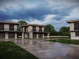 Şile Villa Projesi - Avan Proje Üzerinden 3D Görselleştirme Hakan Özerdem - Mimari Proje Görselleştirme ve 3D Tasarım Villa