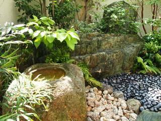 現代風和風庭園 モダン石庭 株式会社ウエシン 枯山水 石